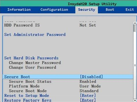 reset bios insydeh20 how to recover reset login password on uefi based lenovo
