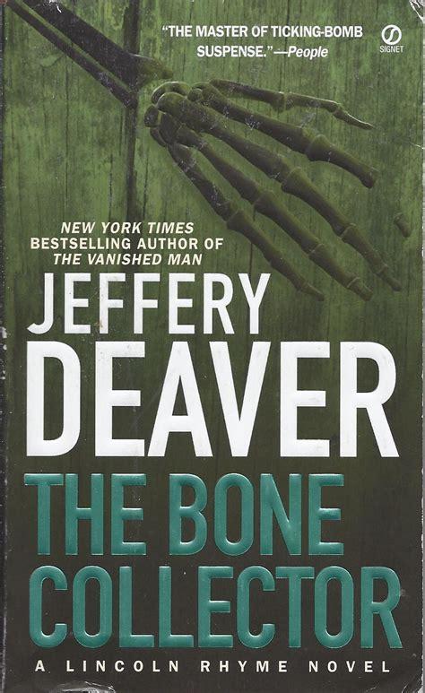 the bone collector book review suspense thriller books