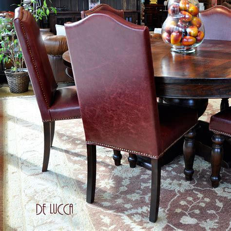 burgundy leather dining chairs leather dining chairs world burgundy brown