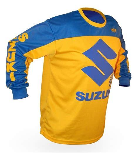 suzuki motocross gear image gallery suzuki jersey