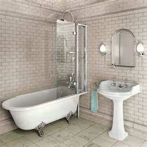 Shower Screens For Freestanding Baths Free Standing Bath With Shower Screen For The Home
