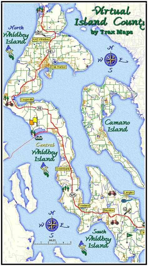 whidbey island map haskins family home page