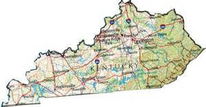 State Of Kentucky Map by Map Of Kentucky Ky State Map
