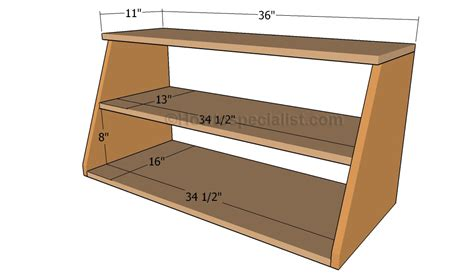 How To Build A Shoe Rack In A Closet by How To Build A Shoe Organizer Howtospecialist How To