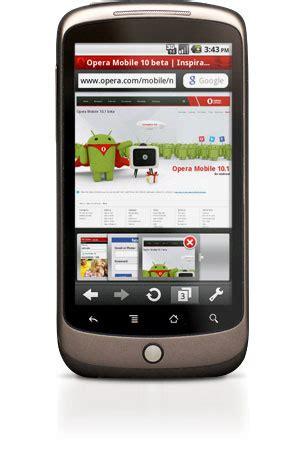 opera mobile 10 1 opera mobile 10 1 beta comes to android tech ticker