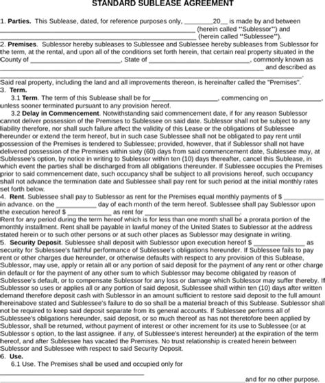 Download Maryland Rental Agreement For Free Formtemplate Maryland Residential Lease Template
