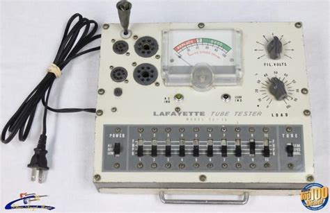 lafayette capacitor checker vintage lafayette te 15 tester japan 100 working condition 28833 reverb