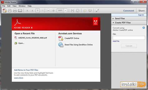 adobe reader x 10 1 1 free download full version adobe reader x 10 1 5 for windows 10 free download on