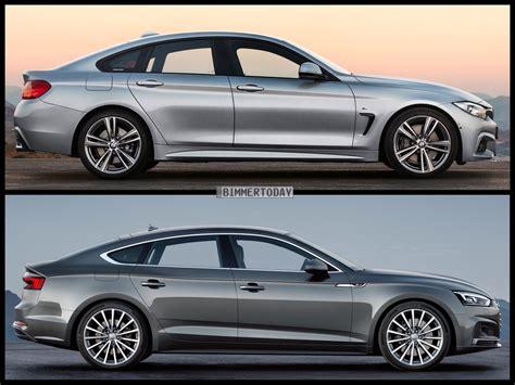 Audi A5 Sedan by Photo Comparison Bmw 4 Series Gran Coupe Vs Audi A5 Sportback