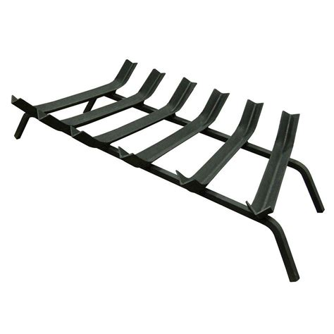 Pleasant Hearth Fireplace Grate by Pleasant Hearth 1 2 In 18 In 4 Bar Steel Fireplace Grate