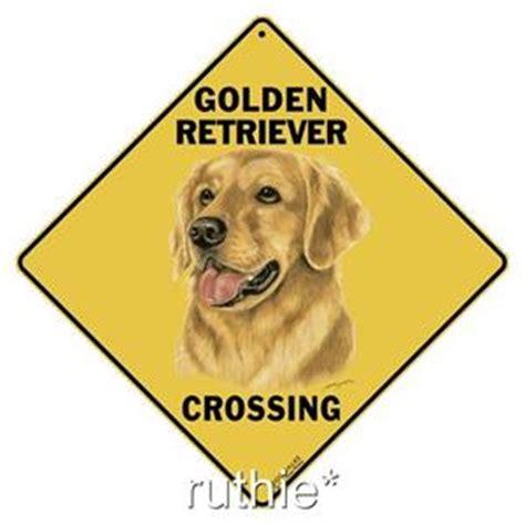 golden retriever shape golden retriever metal crossing sign 16 1 2 quot x 16 1 2 quot shape made us ebay