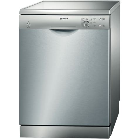 dish washers bosch sms40e08au stainless steel freestanding dishwasher at the guys