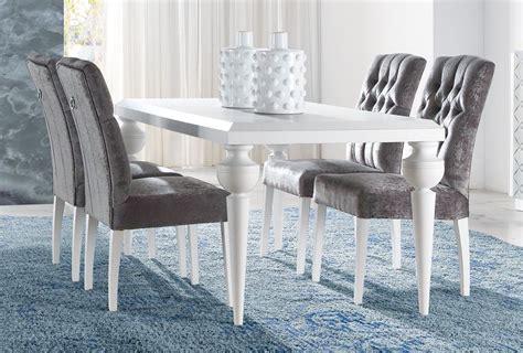 mesa de comedor clasica  patas torneadas dm muebles