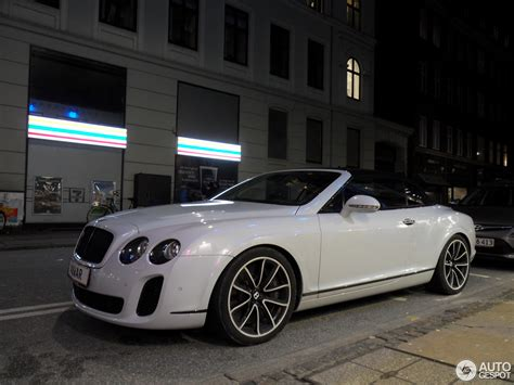 bentley convertible bentley continental supersports convertible 23 november