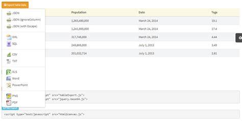 Javascript Create Table by Html Table To Pdf Javascript