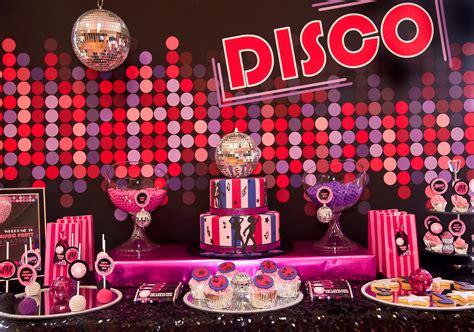 pink disco tween birthday anders ruff custom