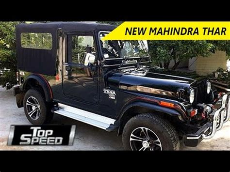mahindra thar for sale price list in india july 2018