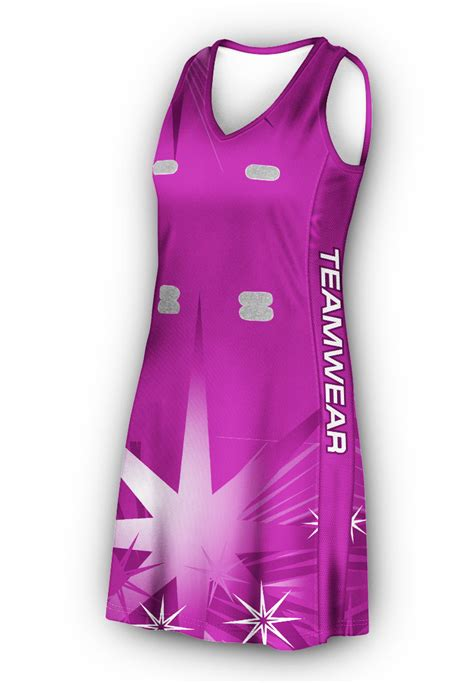 design your own jersey dress racer back netball dress design your own netball uniform