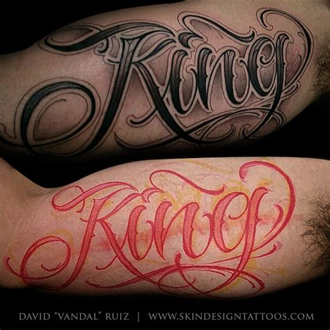 script for tattoos las vegas lettering script tattoos by vandal skin