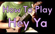 ukulele tutorial hey ya 1000 images about learning new things on pinterest