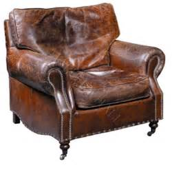 Recliner Armchairs Sale Custom Distressed Waxed Brown Leather Arm Club Chair