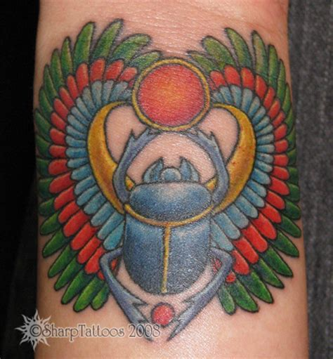 egyptian beetle tattoo scarab picture