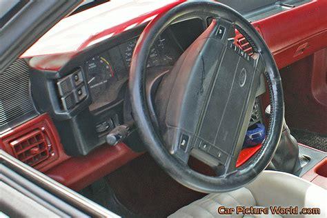 1990 mustang dash 1990 cobra convertible dash picture