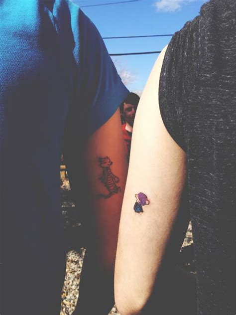 awesome couple tattoos 20 cool matching ideas for couples who believe in