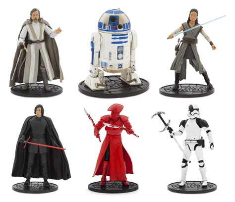 Disney Store Diecast Wars Elite Limited Kylo Ren Unmasked friday ii look at select new wars