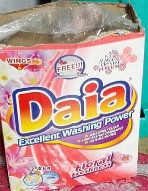 Sabun Daia daia excellent washing power powder reviews