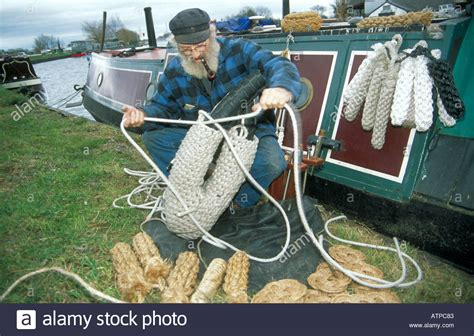 boat fenders rope ben self making traditional boat fenders from rope on his