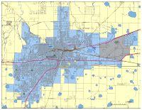 editable amarillo tx city map illustrator pdf
