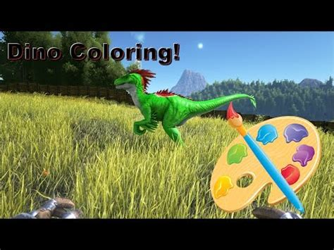 spray paint dinosaur ark ark how to craft and use dye s on xbox one musica movil