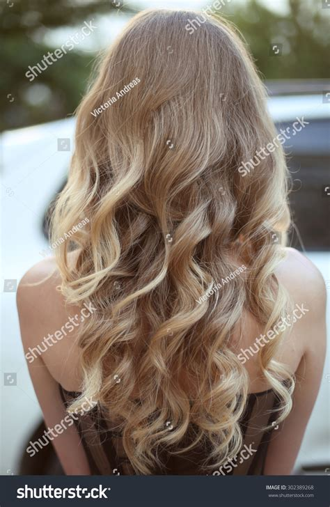 curly hairstyles for long hair back view healthy hair curly long hairstyle back view of blond