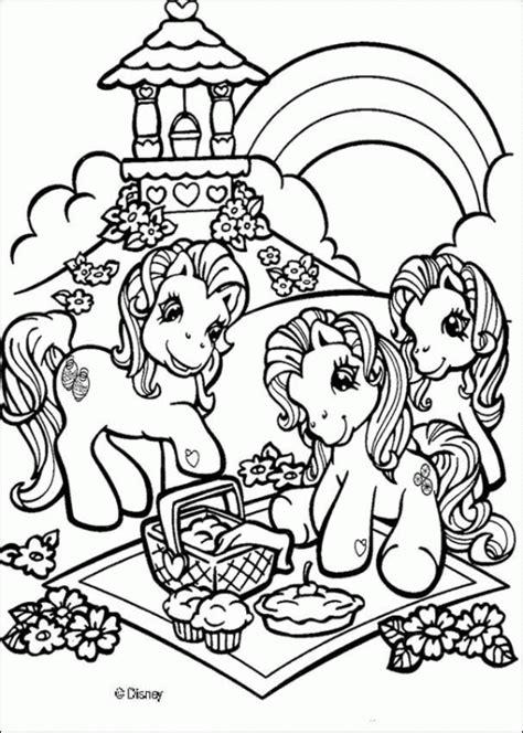 kucyk pony kolorowanki czas dzieci
