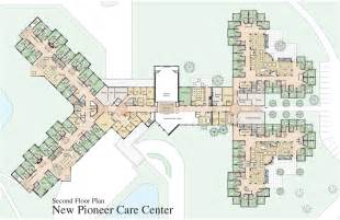 Nursing Home Floor Plans by Second Floor Plan Pioneercare