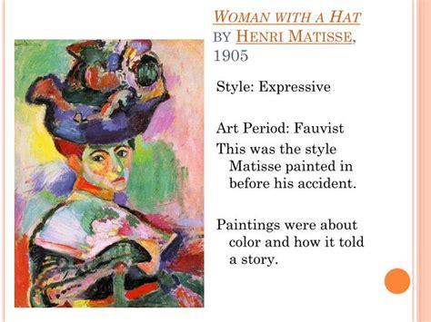 Openinteriors Henri Matisse Woman With Hat Ppt Henri Matisse Powerpoint