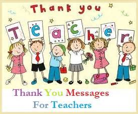 Thank You Note To Nursery From Parents Appreciation Messages And Letters Nursery Teachers