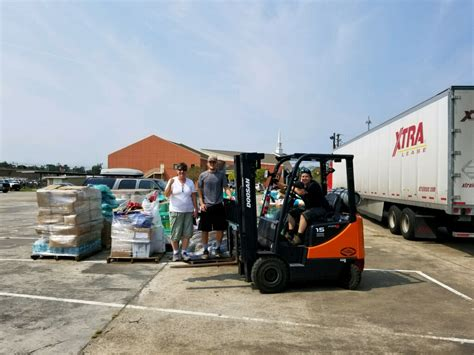 Supplies Tx Northshore Churches Firefighters Giving Back In Of