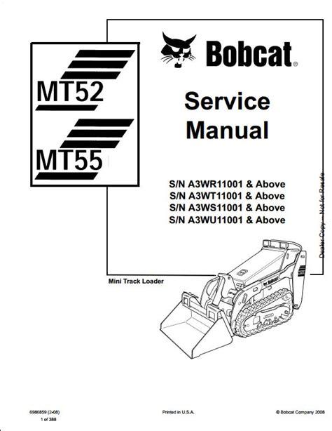 small engine repair manuals free download 2010 mini cooper clubman parking system bobcat mt52 mt55 mini track loader service repair workshop manual a3wr11001 a3wu11001 a repair