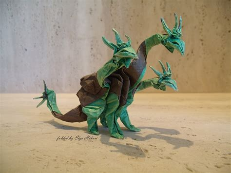 Origami 3 Headed - 26 non traditional but still awesome origami dragons