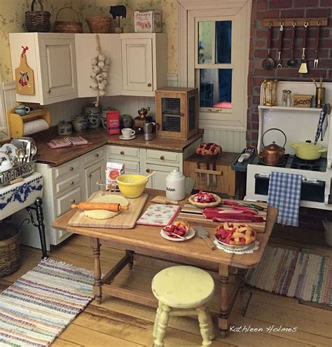 doll house kitchen 253 best dollhouse kitchen images on pinterest