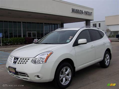 nissan 2008 white 2008 phantom white pearl nissan rogue sl 7506702