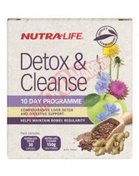 detox cleanse 10 day programme by nutralife big brands