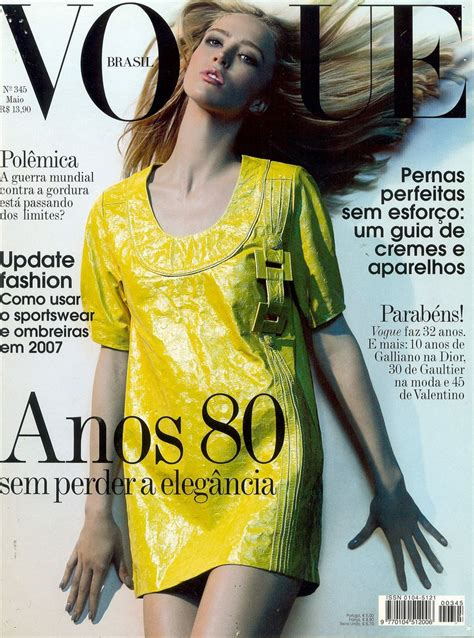 Vogues May 2007 Cover by Vogue Brasil May 2007 Cover Vogue Brasil