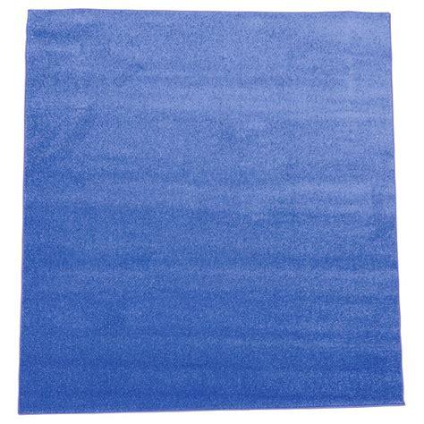 teppich 2x2 teppich blau 2 x 2 m insgraf