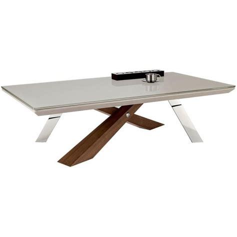 Saturn Coffee Table Nord Saturn Rectangular Glass Coffee Table Stainless Walnut Framework