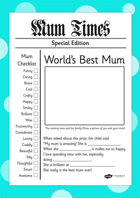 card writing template s day newspaper card template great teaching