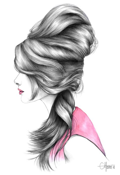 Gorgeous Fashion Illustrations by Fashion Illustrations Makeup