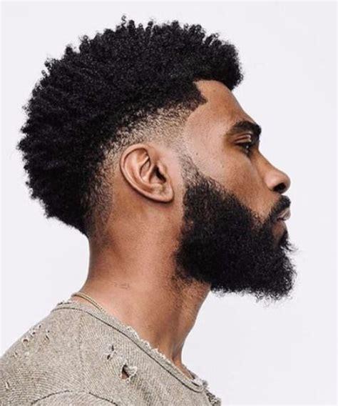 black men haircuts with beards undercut on black men